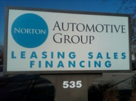 Norton Auto Group Sign