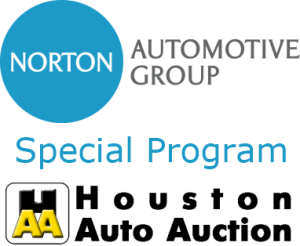 Norton Automotive Group and Houston Auto Auction Special Program